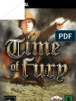 Time of Fury manual (teaser)