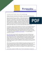 December Perspective Newsletter
