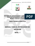 Manual de Natacion Nivel 1, Nueva Estructura