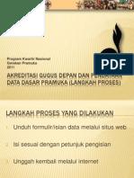Akreditasi Gugus Depan Dan Pendataan Data Dasar Pramuka
