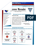 Maroon Marauder - Winter 2009