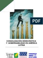 Todo CONSOLIDACIÓN DEMOCRATICA Y GOBERNABILIDAD EN AMERICA L