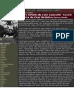 Despre Suferintele Celor Casatoriti - Cuvant La Nunta Din Cana Galileii de Danion Vasile