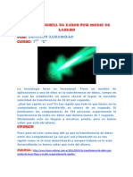 Transfer en CIA de Datos Por Medio de Lasers