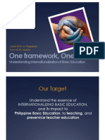 Inter Nationalization of Basic Education Digested)