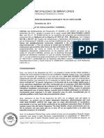 Resolucion de Discriminacion Muni Miraflores