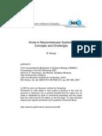 Peter Virnau- Knots in Macromolecular Systems