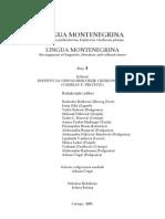 Lingua Montenegrina 4 2009