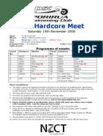 2008 PSC Hardcore Flyer
