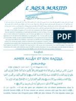 Aimer Allah Et Son Racoul (Saw)