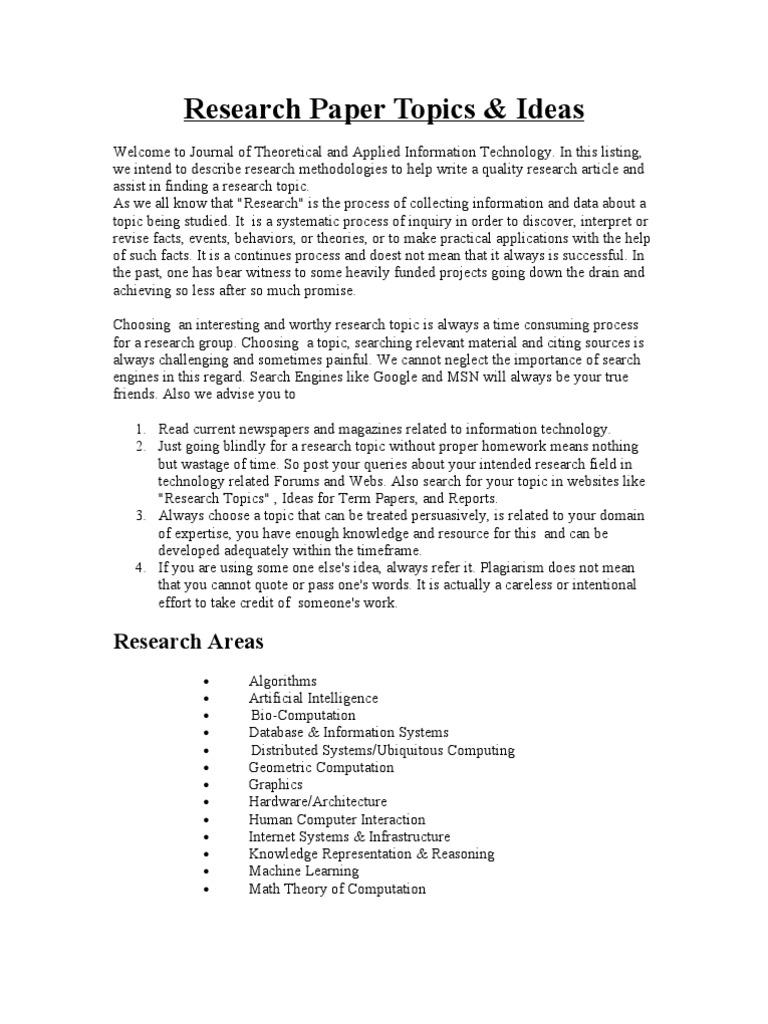 research paper information An outline for a research paper is a visual reminder to include all of the pertinent details of your research into your essay or paper it is essentially a skeletal version of the true paper, and will guide you through the entire process.