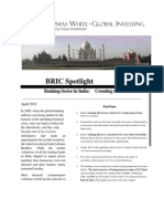 Bric Spotlight Report India Banking Page1