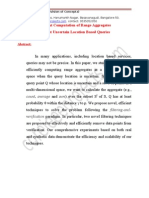 Efficient Computation of Range Aggregates Against Uncertain Location Based Queries Abstract by Coreieeeprojects