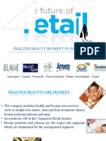 Health and Beauty Segment in Indian Retail 2011