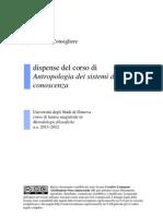 Dispense Antrop Sist Conosc 2011-2012