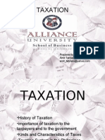 Taxation - Economics