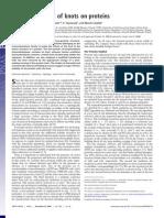 Joanna I. Sułkowska, Piotr Sułkowski, P. Szymczak and Marek Cieplak- Stabilizing effect of knots on proteins