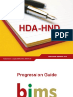 HDA HND Progression Guide Jan11