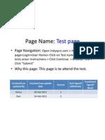 Test Page V2