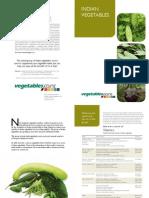 Booklet Indian Vegetables