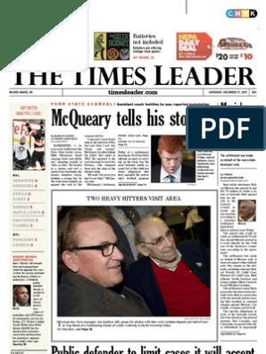 Times Leader 12-17-2011   Jerry Sandusky   Syria