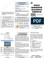 Church Newsletter-18 December 2011