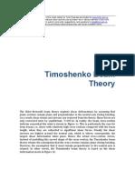Structural Analysis Timoshenko Beam Theory