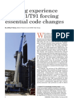 SCI Industry Alert P91T91 Code Changes Asme