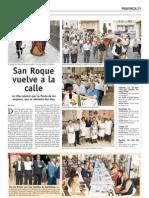 Comida Hermandad de San Roque.Puente del Congosto