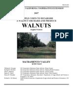 Walnut Growing Plan