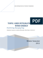 Protocol_Grid Integration of Wind Energy