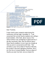 RG Email to Trustees Nov 12 2011