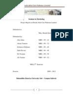 Seminar in Mkting Report