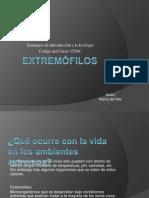 extremofilos