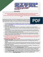 Ecs Tournament General Information