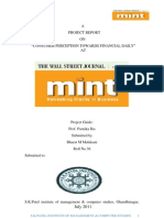 Final Report of Mint Bharat Malukani