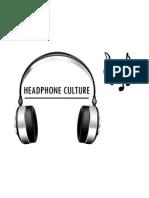 Headphone Culture