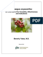 A Research Review of Crataegus ha