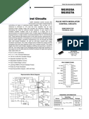 SG3525 | Capacitor | Electronic Circuits