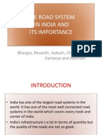 The Road System in India and Its Importance