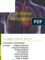 to Embrionario Do Sistema Respiratorio