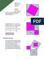 DEMOSTRACIÓN  DE  PITÁGORAS
