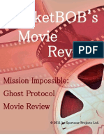 Mission Impossible Ghost Protocol MarketBOB Imax Movie Review
