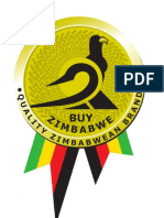 Buy Zimbabwe Brand Manual Final