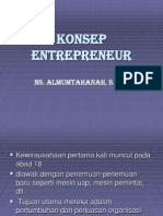 Konsep Entrepreneur