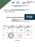 Rapport Interim a Ire Commun Coalition Des ONG GRANT 2048 Version Finale 10102010 1