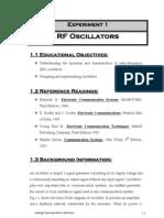 RF Oscillators