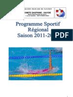 Programme Sportif 2011-2012