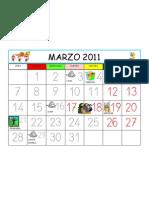 MES DE MARZO 2011