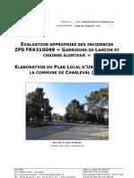 Annexe RP - Evaluation appropriée des incidences N2000